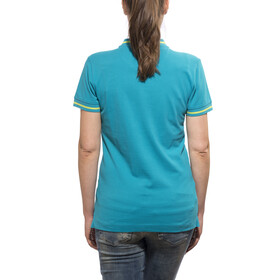 Cube Cube 93 T-Shirt Donna Polo petrolio